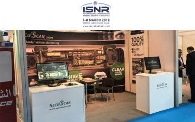 SecuScan® at ISNR 2018 in Abu Dhabi, UAE