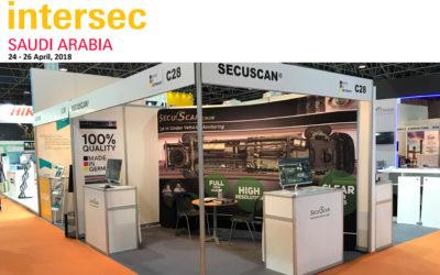 SecuScan® at INTERSEC 2018 in Jeddah, Saudi Arabia