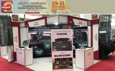SecuScan® at MILIPOL QATAR 2018 in Doha, Qatar