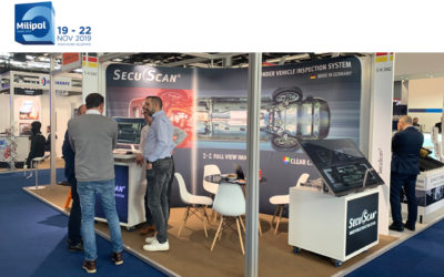 SecuScan® at MILIPOL 2019 in Paris, France