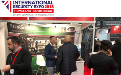 SecuScan® at SECURITY EXPO 2018 in London, UK