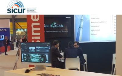 SecuScan® at SICUR 2018 in Madrid, Spain