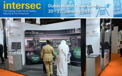 SecuScan® at INTERSEC 2019 in Dubai, UAE