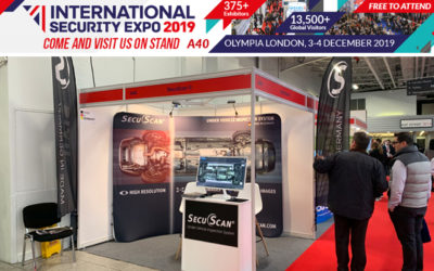 SecuScan®at INTERNATIONAL SECURITY EXPO 2019 in London, UK