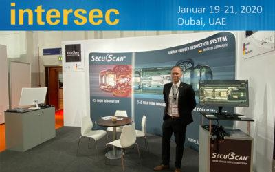 SecuScan® at INTERSEC 2020 in Dubai, UAE