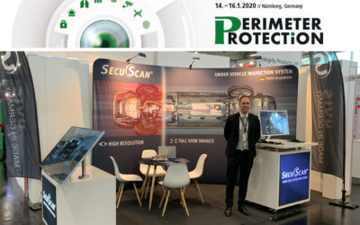 SecuScan® at PERIMETER PROTECTION 2020 in Nurnberg, Germany