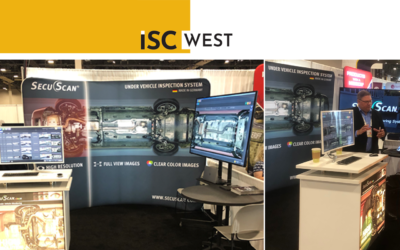 Meet SecuScan® at ISC West in Las Vegas, USA